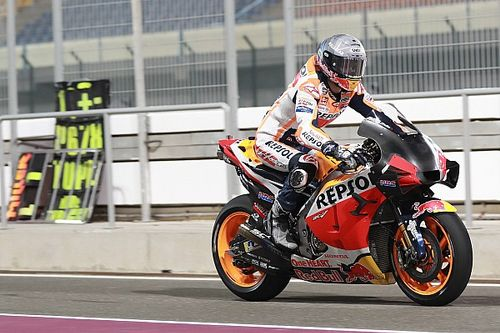 Vorletzter am Samstag: MotoGP-Rookie Alex Marquez stürzt zweimal