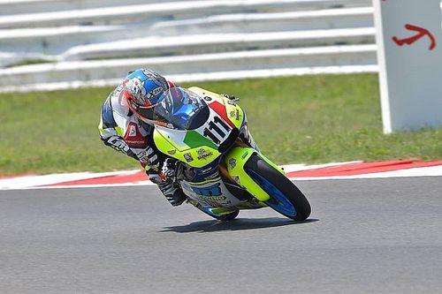 Zannoni piazza la doppietta a Misano e prende il largo nel Tricolore Moto3