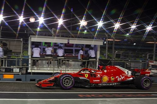 Boxenfunk zeigt: Ferrari verbot Sebastian Vettel Risikostrategie
