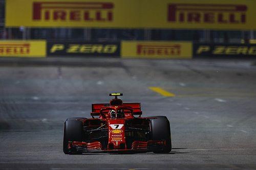 Raikkönen: Kissé furcsa a Ferrari hirtelen visszaesése a szingapúri időmérőn