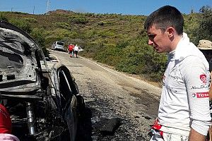 VIDEO: el Citroën C3 WRC de Breen Craig se incendia en Turquía