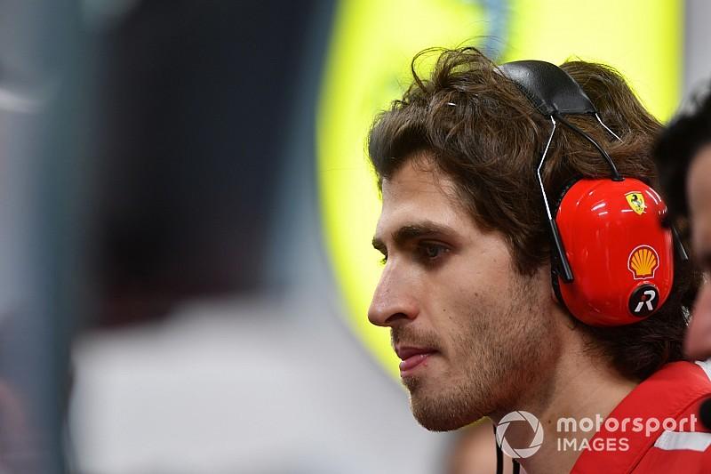 Giovinazzi, Sauber'le Rusya'daki ilk antrenman seansına katılacak