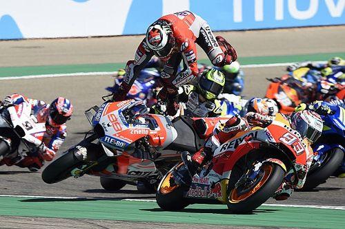 """A nagy kérdés: Lorenzo ezentúl él majd Marquez """"piszkos"""" trükkjeivel?!"""