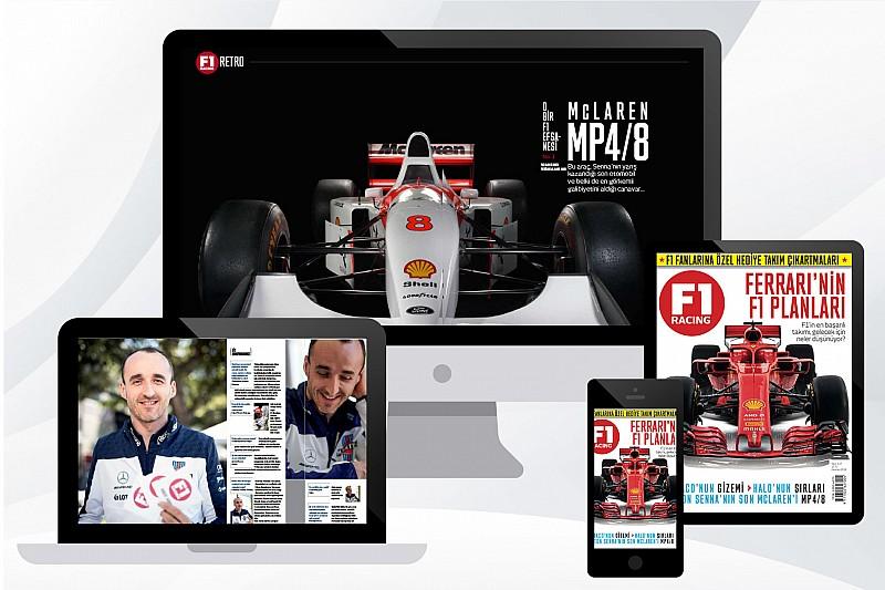 F1 Racing Haziran sayısı dijtal olarak Dergilik'te