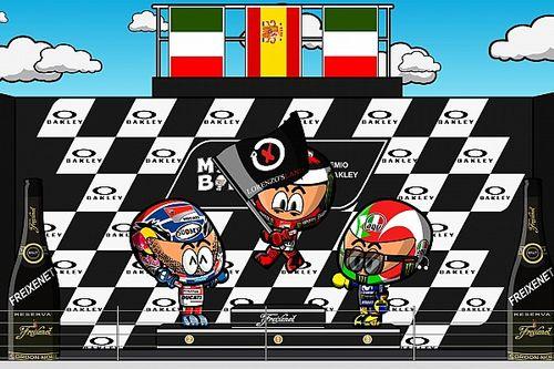 Vídeo: el GP de Italia 2018 de MotoGP por MiniBikers