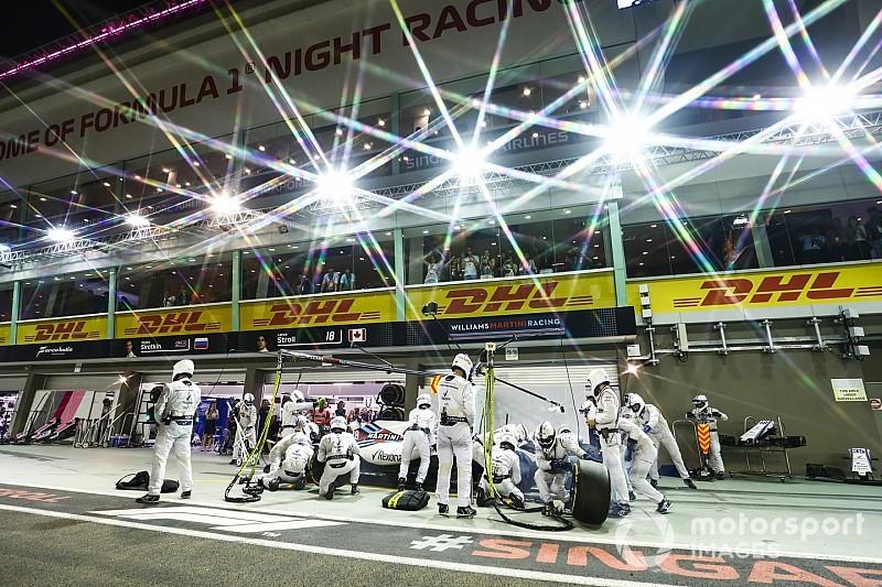 Williams czeka na wyzwanie w Singapurze
