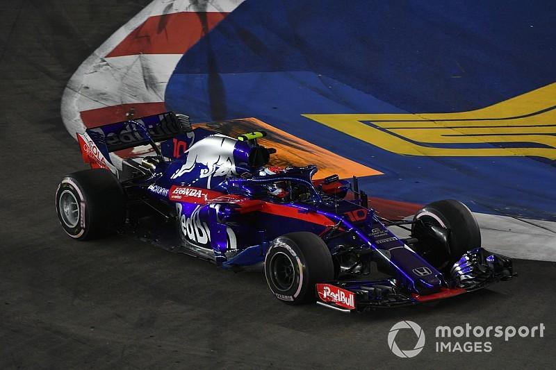 Toro Rosso ultima un paquete de mejoras para afrontar la recta final