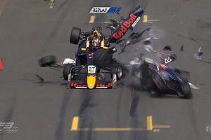 VÍDEO: F3 europeia tem acidente impressionante em largada