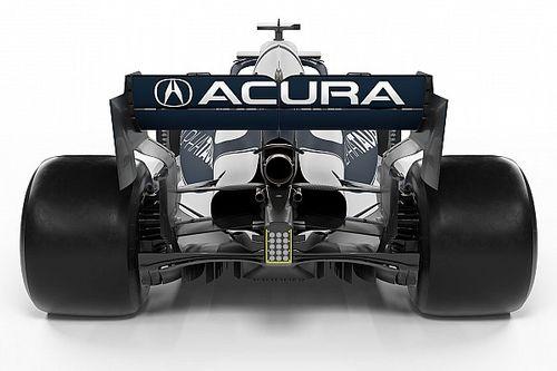 Фото: ливрея Red Bull и AlphaTauri для Остина с рекламой Acura