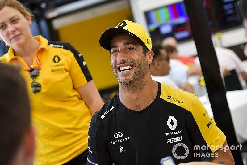 """Se cancela la carrera"", la última anécdota de Ricciardo"