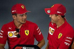 Addio Ferrari-Vettel: Leclerc saluta e ringrazia Seb