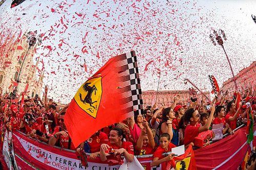Photos - Ferrari fête ses 90 ans à Milan