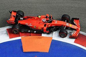 Leclerc nipt voor Verstappen in eerste training Grand Prix van Rusland