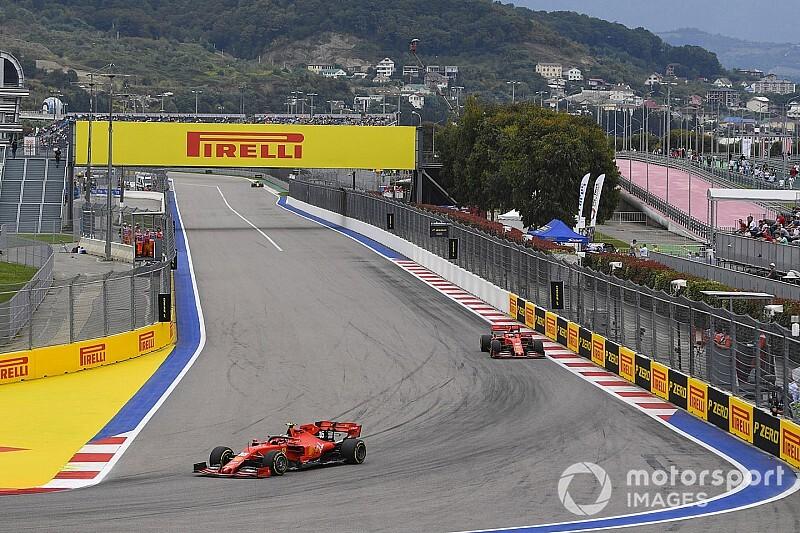 俄罗斯大奖赛FP3:莱克勒克重回榜首,法拉利占据前二