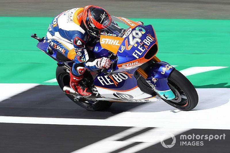 Moto2イギリス決勝|長島自己最高位タイの5位。フェルナンデス今季2勝目