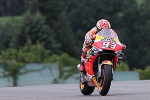 Sachsenring MotoGP: Marquez ends Friday practice on top