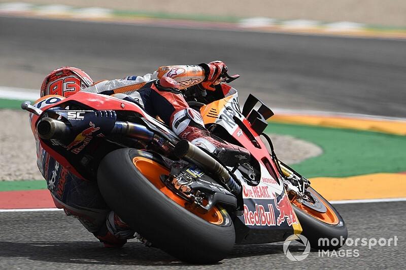Marquez dominuje w Aragonii