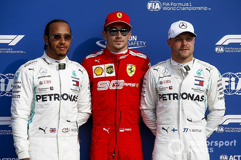 La grille de départ du GP d'Italie