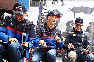 Баран в роли быков и Гасли в мусорке. Как интернет отреагировал на рокировку Red Bull и Toro Rosso