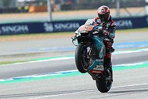 MotoGP, Buriram: poker di pole per Quartararo in una Q2 infuocata