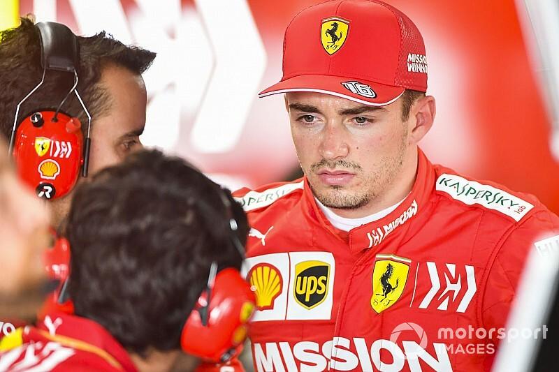Леклера удивила нехватка скорости Ferrari в Японии