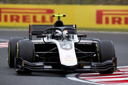 F2 Hongaria: De Vries pole ketiga, Gelael start ke-17