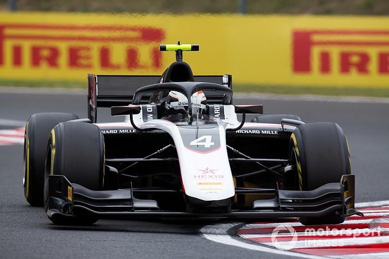 F2, Hungaroring: de Vries vola sul bagnato e conquista la pole