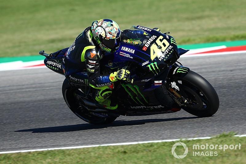 """Rossi explique être allé """"un peu large"""" en passant Márquez"""
