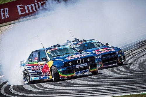 Les Red Bull Driftbrothers prêts à enflammer la piste de Granges !