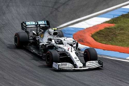 "Bottas held back by ""surprising"" brake inconsistency"