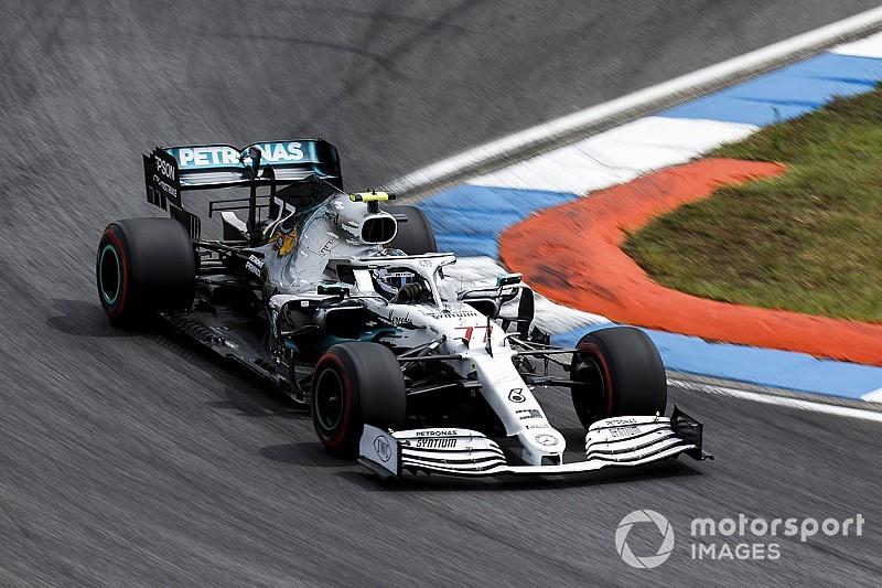 Боттас назвал тормоза главной проблемой в квалификации Гран При Германии