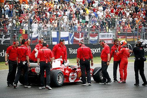 Ferrari: Mick Schumacher sulla F2004 del padre al Mugello