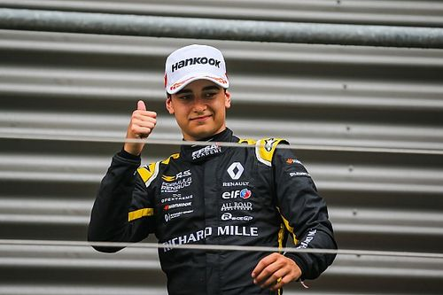 F-Renault Eurocup: Collet vence entre os estreantes e é segundo no geral em Spa