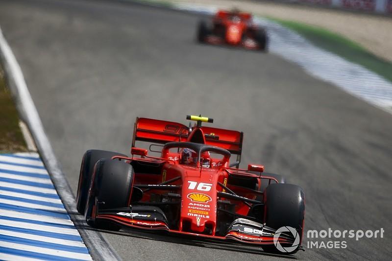 """Leclerc: Ferrari """"ne mérite pas"""" ce qui est arrivé en qualifs"""