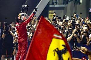 Fotogallery F1: le istantanee della doppietta Ferrari a Singapore