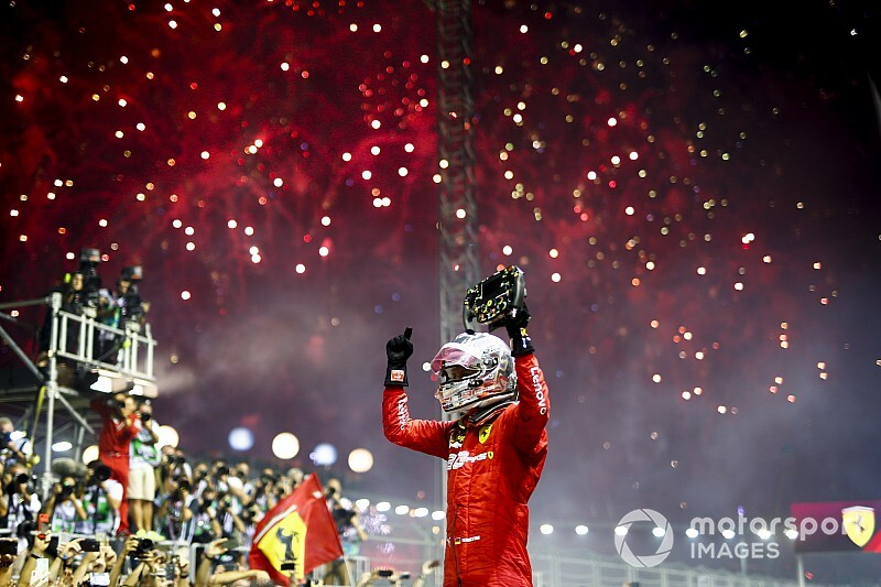 Vettel se reencuentra con una inesperada victoria en Singapur