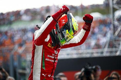 Fotogallery: la prima vittoria di Mick Schumacher in F2