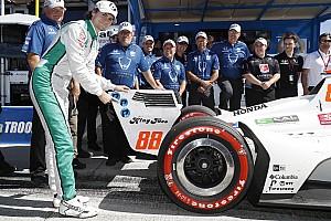 Херта завоевал поул на финальном этапе IndyCar
