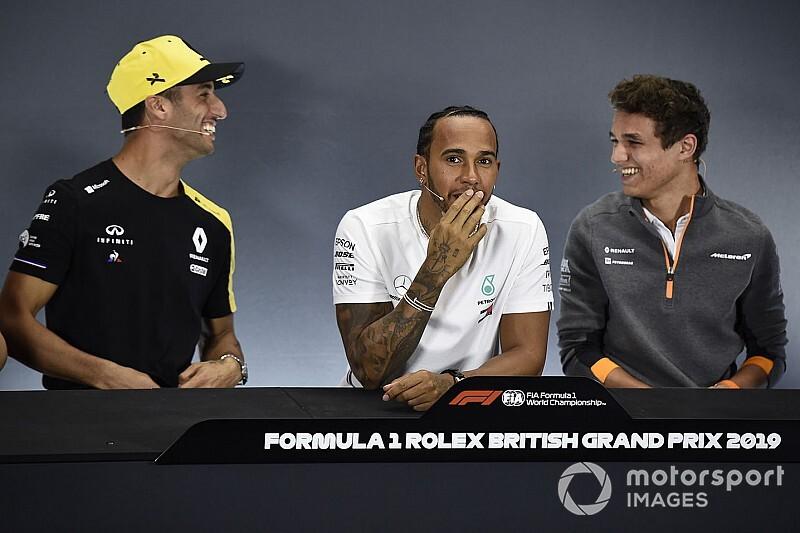 Képeken is Ricciardo és Norris nagy humorparádéja