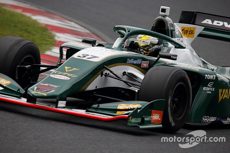 Cassidy agrees fresh TOM'S Super Formula deal