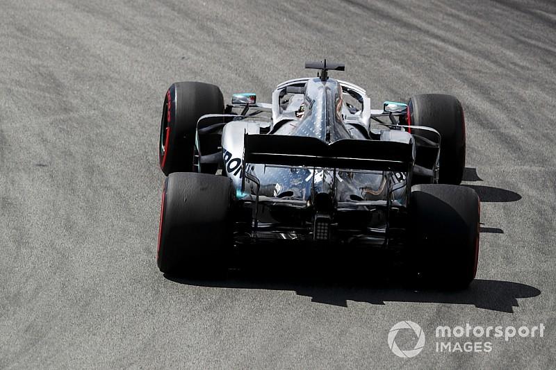 """La Mercedes est """"complètement différente"""" des tests hivernaux"""