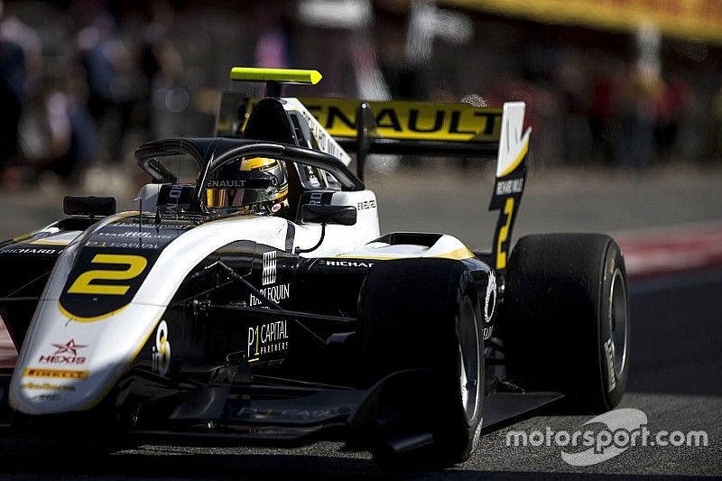 F3, Silverstone: Max Fewtrell mette la sua firma nelle Libere