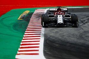 Räikkönen pénteki napja Barcelonából, képekben: pályán az Alfa Romeóval