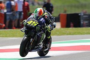 """Rossi diz que """"Márquez não faria a pole sem o vácuo de Dovizioso"""""""