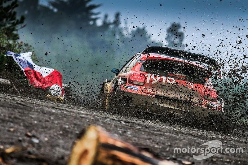 Fotogallery WRC: le foto più belle della prima tappa del Rally del Cile 2019
