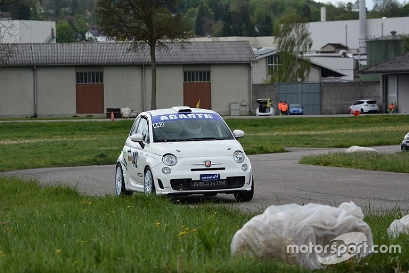 Abarth Trofeo Slalom: Bruno Riesen le plus rapide en Thurgovie