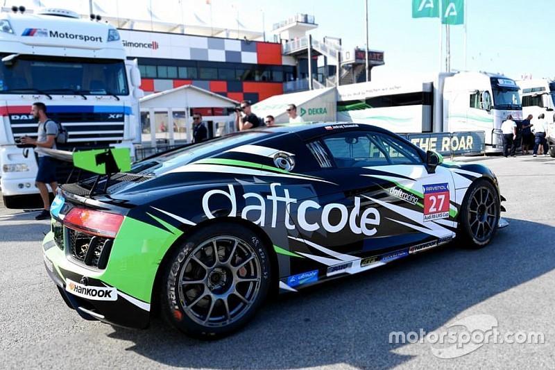 Szcześniak w Audi Sport Seyffarth R8 LMS Cup 2019