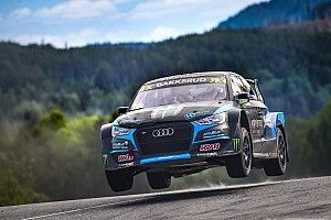 Sweden World RX: Bakkerud leads after rain-affected Saturday