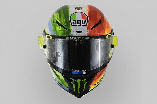 Helm baru Rossi untuk balapan Mugello