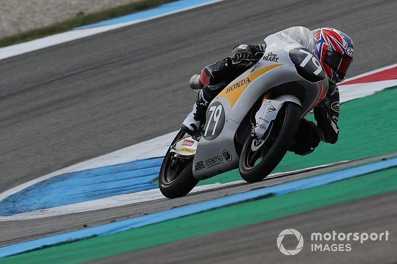 Moto3 Assen FT1: Honda gibt den Ton an, Ai Ogura vorne